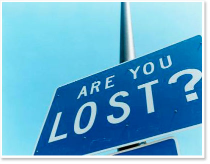What Does it Mean to Be Lost?
